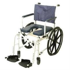 Invacare Shower Chair Highback Office Mariner Rehab With 18 Inch Seat And 23 Rear Wheels