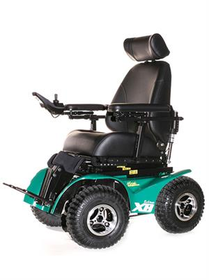 all terrain electric wheelchair yellow tufted chair x8 extreme adaptive specialties