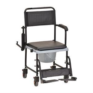 Nova DropArm Transport Chair Commode