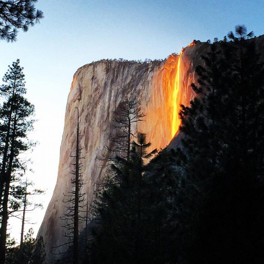 Yosemite Lava Falls Wallpaper Yosemite Firefall Breathtaking Photographs Capture