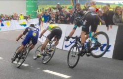 Video: Danny Van Poppel makes an insane Endo Save at the Tour de