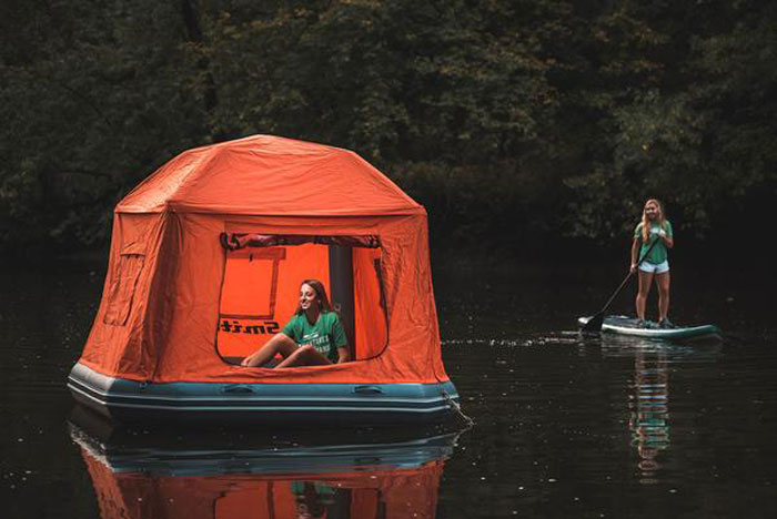 Smithflys inflatable water tent promises a camping experience like no other