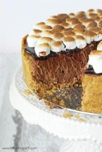 Smores-Cheesecake-Recipe