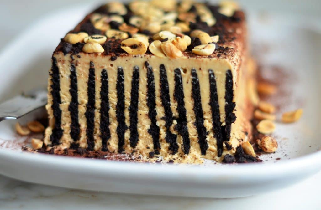 Hershey Triple Layer Chocolate Mousse Cake