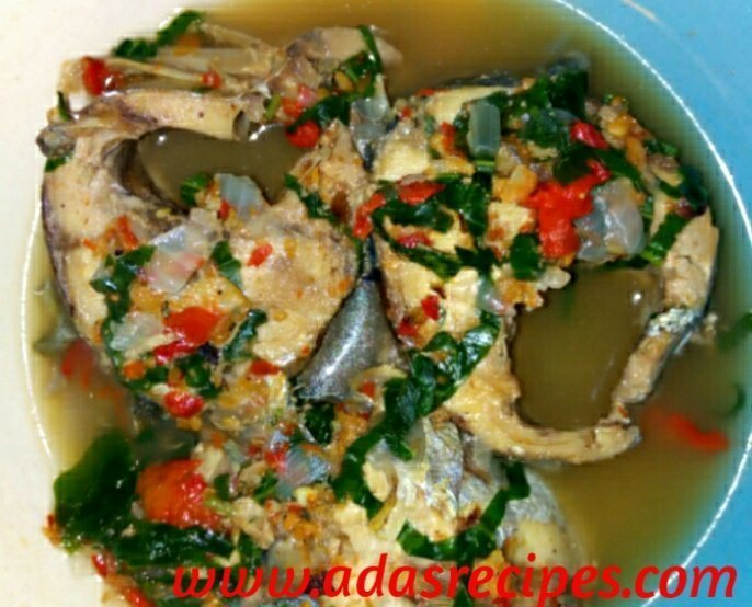 Hot delicious Fresh Fish pepper soup