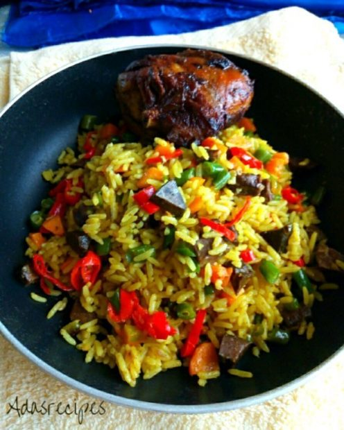 Super Nigerian Fried Rice Recipe Wins Hubby's Heart