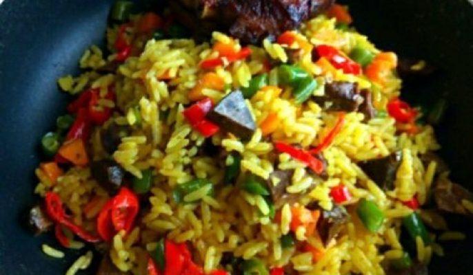 Super Nigerian Fried Rice Recipe Wins Hubby's Heart