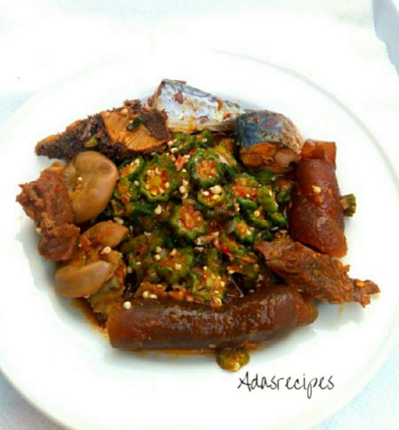 Weightloss okro Soup recipe Worth Trying