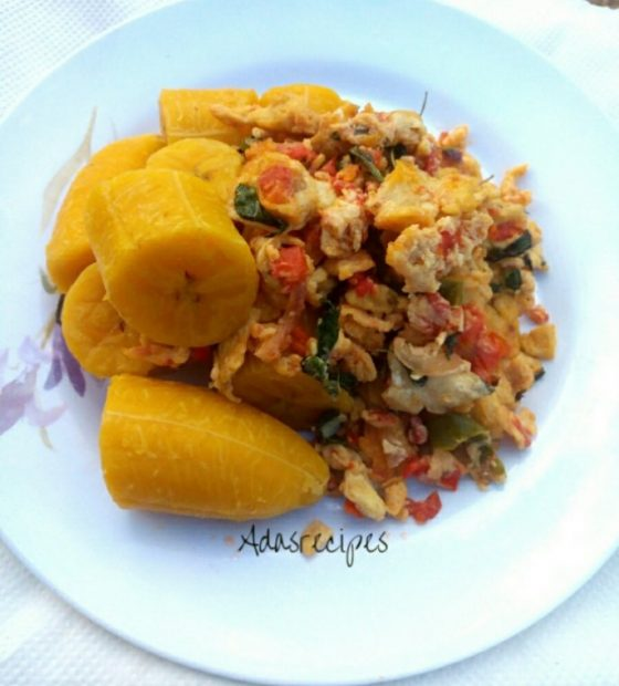 Super Nigerian Scrambled Egg Recipe