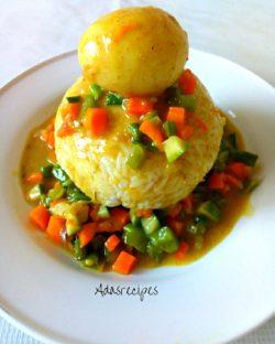 Prepare Tasty vegetable Egg Curry Sauce