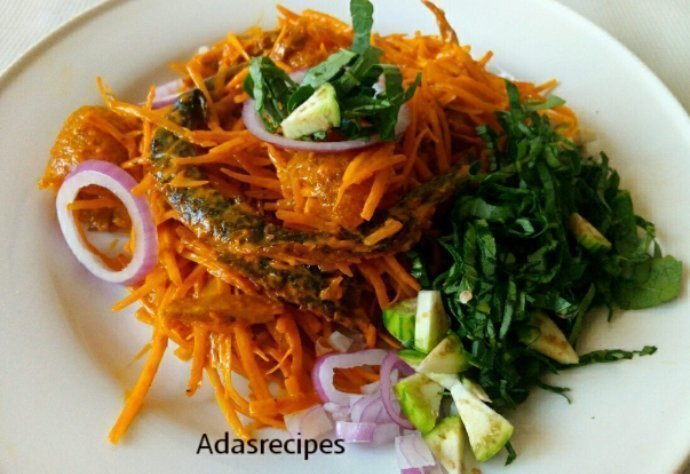Mouthwatering Abacha Recipe (African Salad)