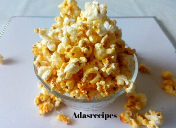 Tasty Homemade Nigerian Popcorn Recipe