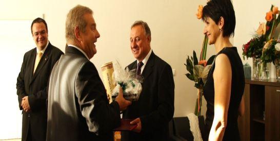 Váradi Lajos diplomata távozása a Magyar Köztársaság Pozsonyi Nagykövetségéről