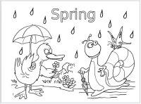 April Preschool Themes, Weather Theme, Spring Theme, Bunny