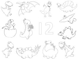August Preschool Curriculum, Birds, Dinosaurs, Nursery