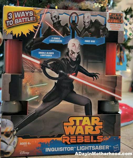 Star Wars Rebels Inquisitor Lightsaber Review And Giveaway