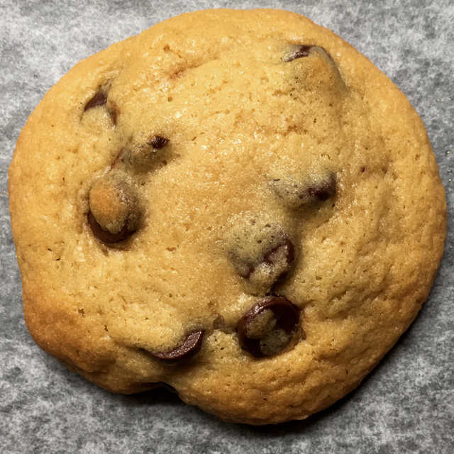 One Classic Chewy Chocolate Chip Cookie