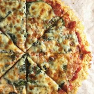 Rice Crust Pizza