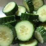 Cold Spicy Cucumber Bites