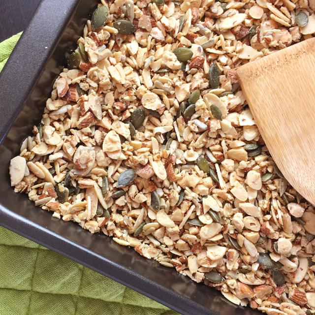 Easy Grain-Free Nutty Granola