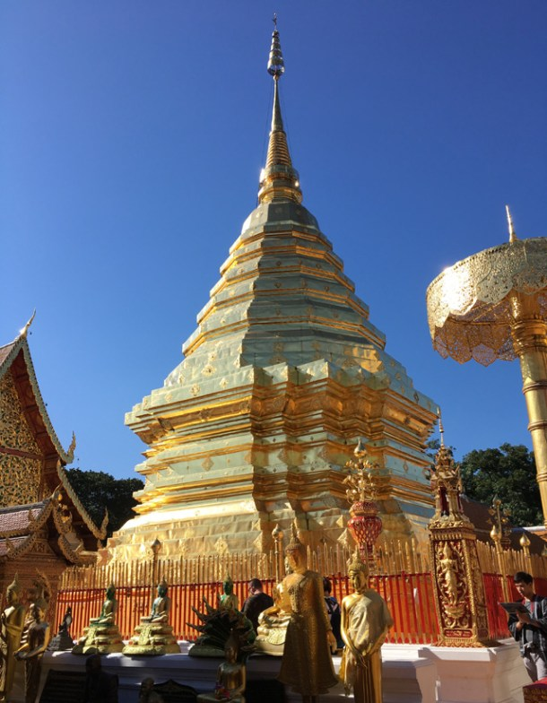 The Golden Temple in Chiang Mai