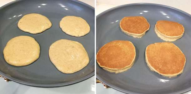 How to make almond pancakes
