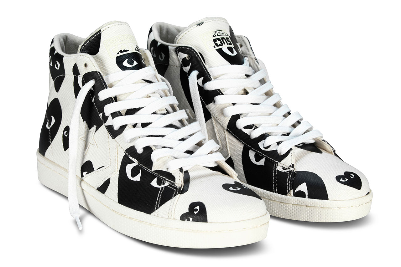 COMME des GARÇONS PLAY for Converse Pro Leather 2013 Collection ‧ A Day Magazine