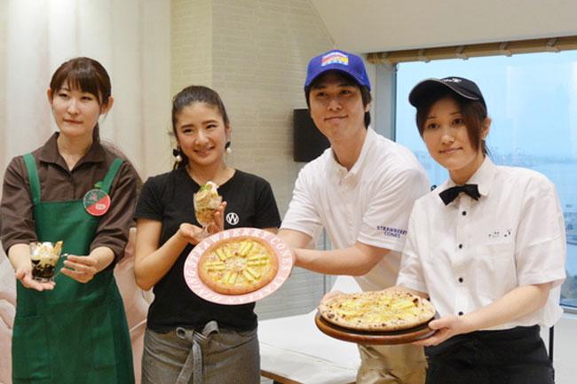 當朱古力遇上Pizza:日本餐廳推出限定烤布丁Kit Kat Pizza及甜品 ‧ A Day Magazine