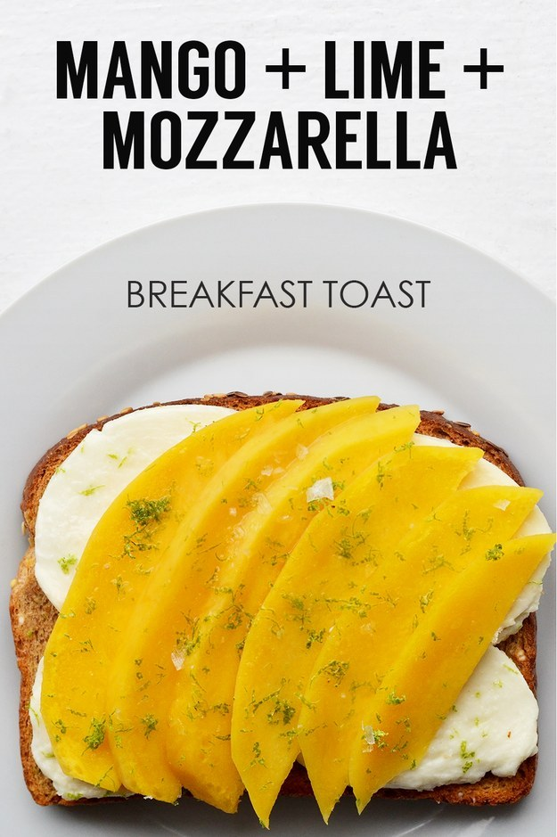 21 Ideas For Breakfast Toasts 4