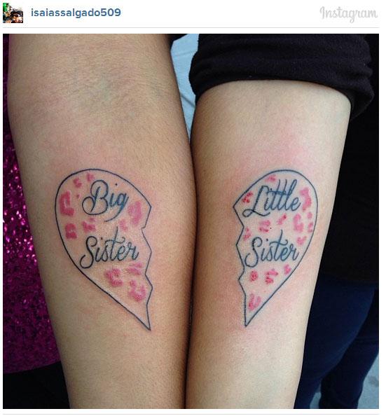 見證友情的刺青,27個姐妹情誼的象徵 ‧ A Day Magazine