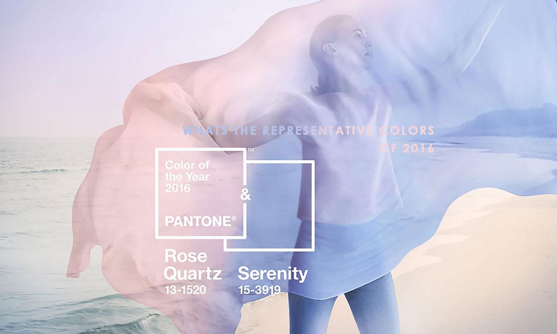 色彩權威 Pantone 已發表 2016 年代表色:浪漫的 Rose Quartz 和 Serenity 迅速充斥各領域 ‧ A Day Magazine