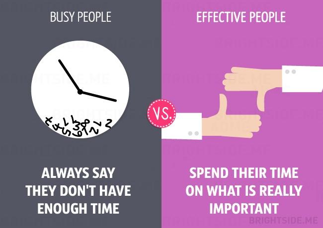 老是瞎忙一場嗎?11 張插圖告訴你「忙碌」和「有效率」的差別 ‧ A Day Magazine