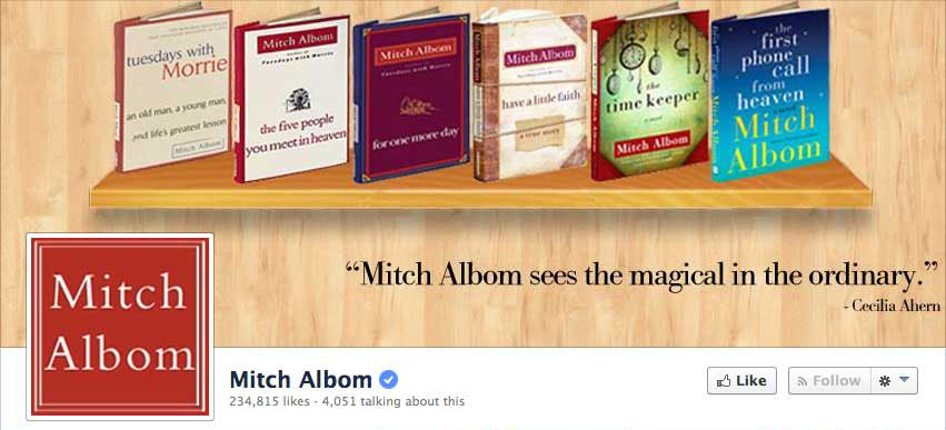 Free Facebook Templates for Authors - Adazing