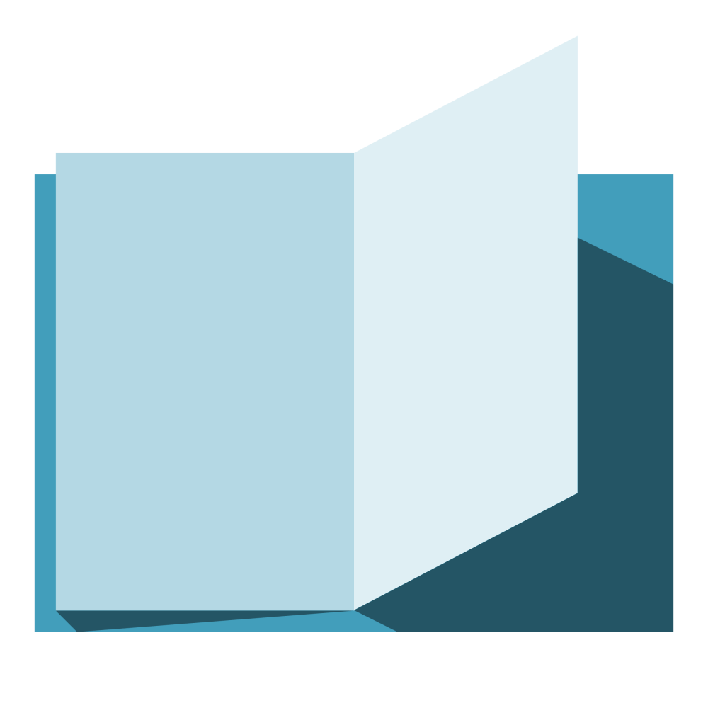 medium resolution of open book clipart book open with blue pages