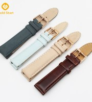 top layer genuine Suede Leather quick release watch straps