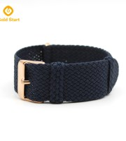 20mm Nylon braided Nato Navy Perlon strap