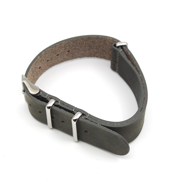1.6mm thick vintage watch strap genuine leather