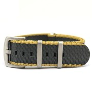 22mm nylon watch band heavy duty seat belt