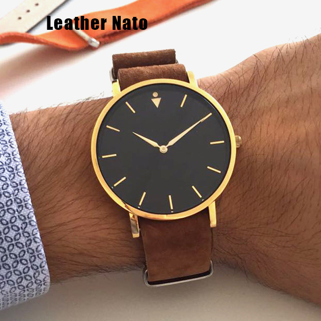 suede leather nato