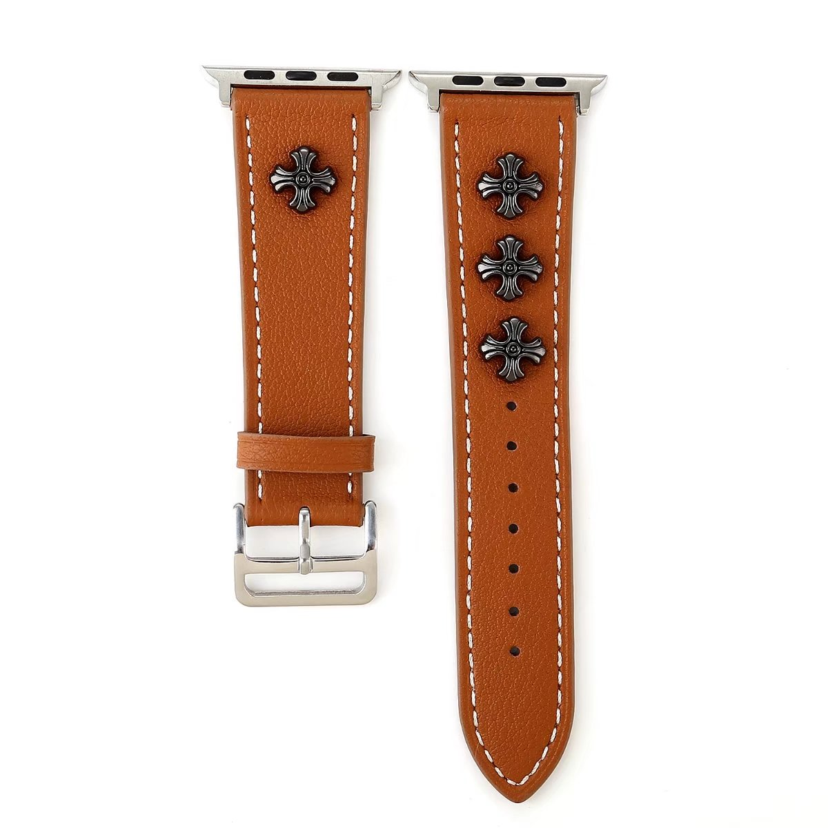 brown leather apple watch band 42mm