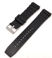 sports watch rubber strap black