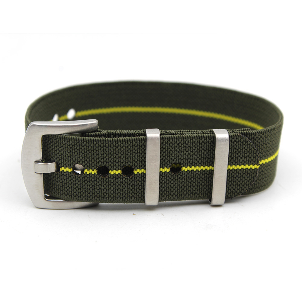 parachute strap french marines ndc green yellow