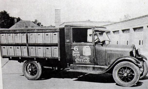 Coca Cola Delivery Truck 1930s