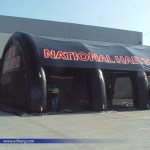 Inflatable tent Design
