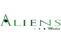 Aliens Media Company Logo