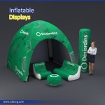 Inflatable Advertising Display