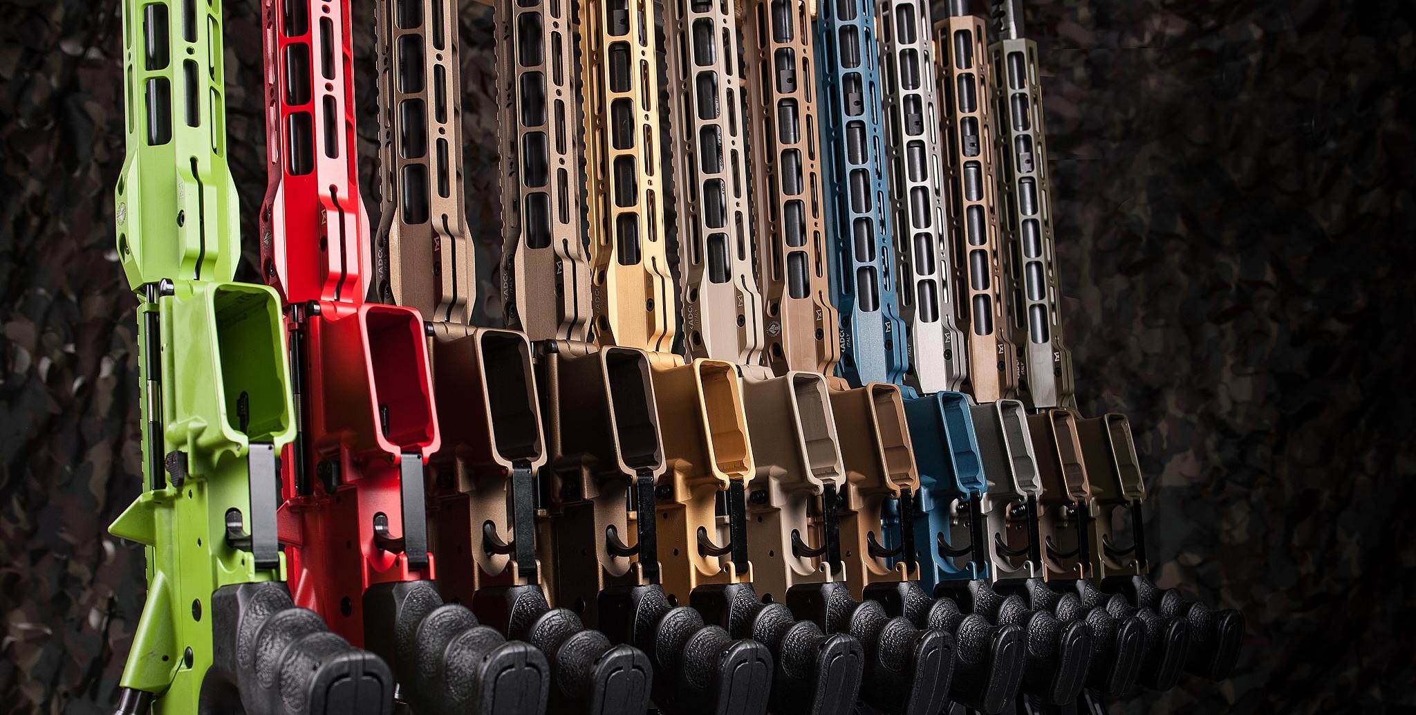 Serie M5 ADC Armi Dallera Custom personalizzati con colorazione Cerakote © Ar15