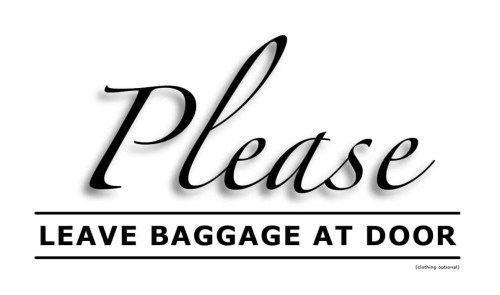Please-Leave-Baggage