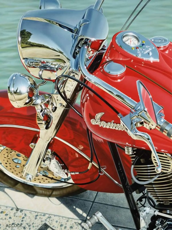 Indian Motorcycle Paintings