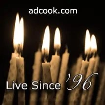 ADCook.com - celebrating 17 years - online since 1996